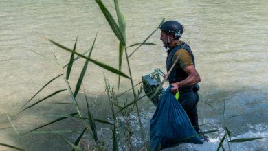 Müllsammelaktion Loisach